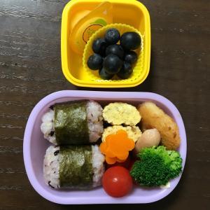 【幼稚園】1学期最後のお弁当と急性咽頭炎で撃沈