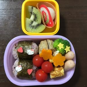 【幼稚園】お弁当DAY&男の子のトイレ