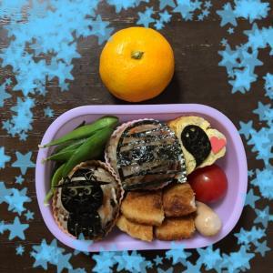 【幼稚園】お弁当DAY♡と実家の野菜便!