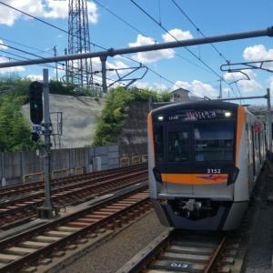 電車の旅。明日から復職です。