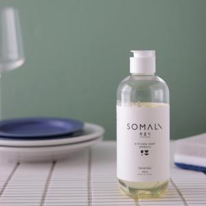 環境にも肌にやさしい石鹸ベースの食器洗剤SOMALI。石けんベースの洗剤を使う理由