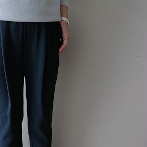 40代ファッション、やっと見つけた!美脚パンツ。