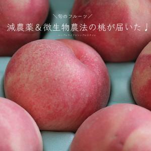 飽きるほど食べたいフルーツ、減農薬&微生物農法の訳あり桃が届いた♩