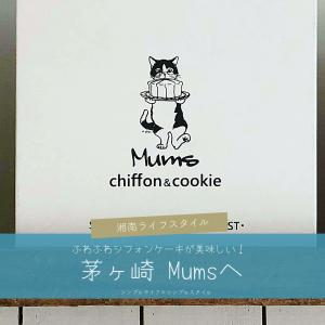 湘南ライフ|茅ヶ崎シフォンケーキのMums(ムムス)へ