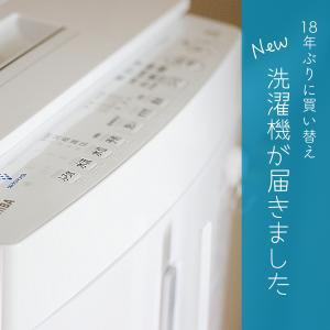 18年ぶりにあたらしい縦型洗濯機がやってきた!使用レポ[TOSHIBA AW-8D9]