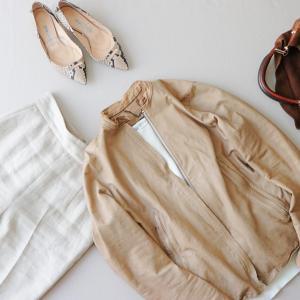 40代ファッション、少ない服で楽しむスッキリコーデ