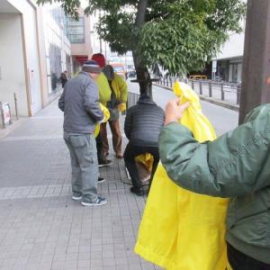 阪急茨木市駅中心のメインストリートday