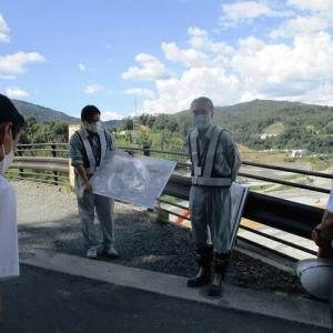 北部委員会と安威川ダム見学 1982年のダム問題点質疑