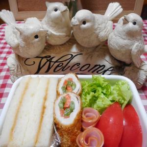 お弁当あるある?! (サンドイッチ弁当&寝かせ玄米ごはん♪)