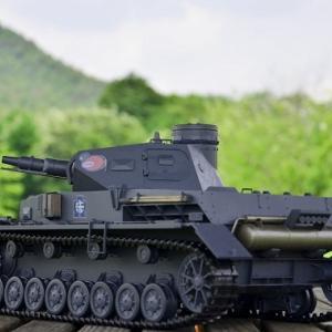 Ⅳ号戦車、今ごろRC化です!