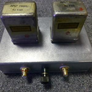 WESTERN ELECTRIC KS-9365 600Ω:50KΩ CDライントランス