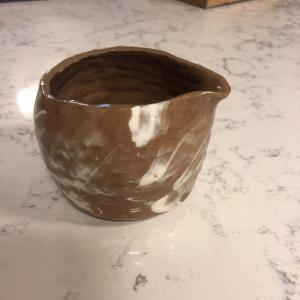 陶芸できました。