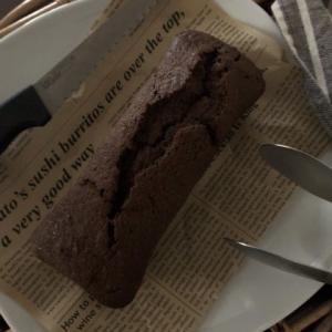 ココアパウンドケーキ