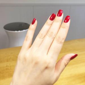 フラメンコ発表会で真っ赤なマニキュアを塗ってみました