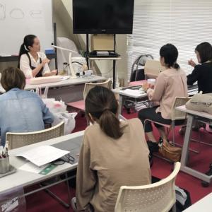 福岡でネイルケアセミナーさせていただきました!