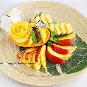マンゴーの日に届いたユートピアファーム宮古島の絶品アップルマンゴー~フルーツカッティングラボ