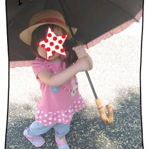 2歳娘日傘デビューとお薦め日傘