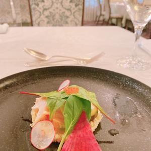 フランス料理テーブルマナーでした