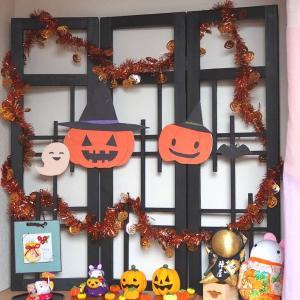 【玄関のしつらえ】10月はハロウィン