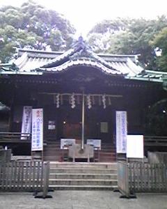 東京のパワースポット代々木八幡宮の縁結び守り