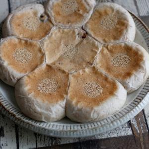 平焼き「胡桃ちぎりパン」