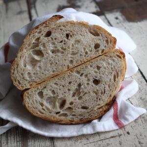 パンの写真撮り