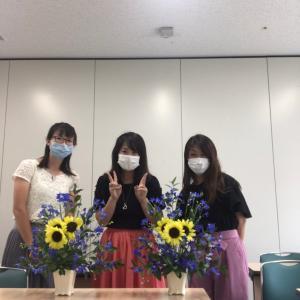 お花のお教室(*ˊ˘ˋ*)。♪:*°あなたも5ヶ月でお花の先生になれる♪
