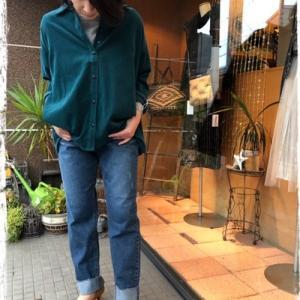 ☆ Praia ソフトコーデュロイフレアーシャツ ☆