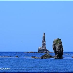 ローソク岩とセタカムイ岩