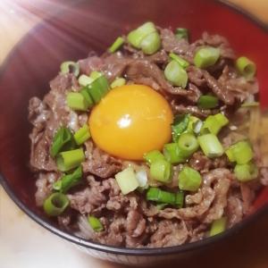 ☆肉たま蕎麦☆