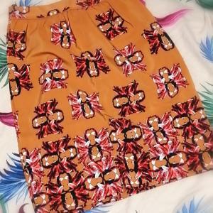 ☆カシスオレンジ、まさにこのスカートの色☆
