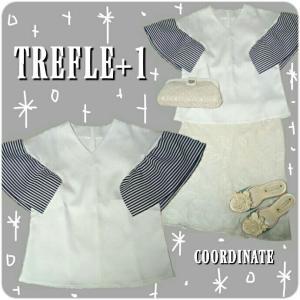 ☆TREFLE+1 ひら&ふわスタイリッシュトップス☆