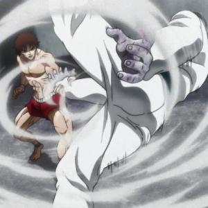 【バキ 大擂台賽編】第2話 感想 毒手使いとの闘い再び
