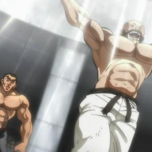 【バキ 大擂台賽編】第6話 感想 ボクシングにも存在した蹴り技