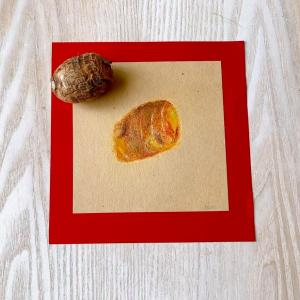 里芋の色は十人十色 【臨床美術・わくわくアトリエin郡山】
