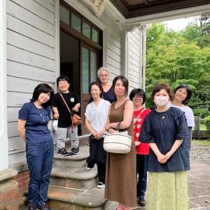 猪苗代町・天鏡閣での宙を奏でる点描曼荼羅画作品展、ありがとうございました