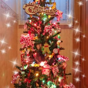 クリスマスツリー キャンディーガーランド