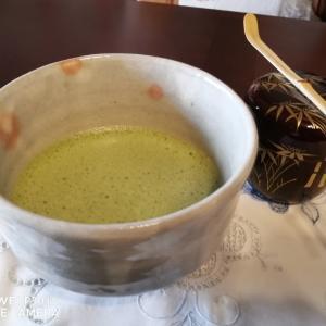 朝の抹茶〜