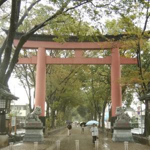 氷川神社ツアーお礼と開運お茶会10月25日(木)のご案内