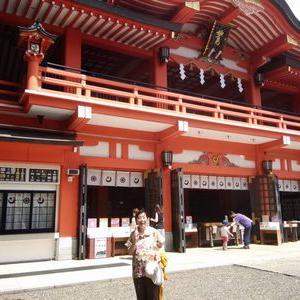 千葉神社に参拝しました。