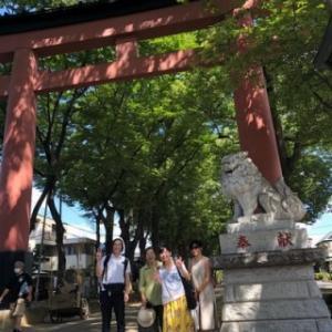 9月22日(祝火)大宮氷川神社ツアーのお知らせ:見沼様のメッセージ