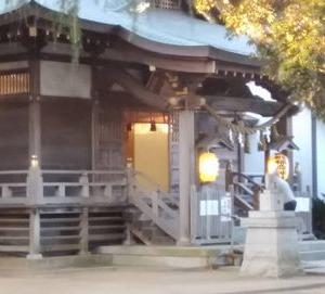 初富稲荷神社に初詣しました。