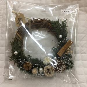 作品紹介【まちこ】クリスマスミニリース・飾り