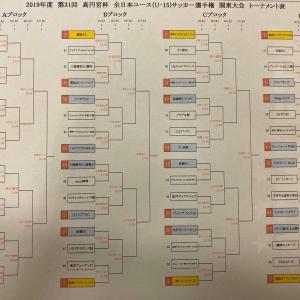 ◆高円宮杯U15 関東プレーオフ