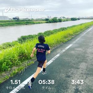 ◆1.5km走