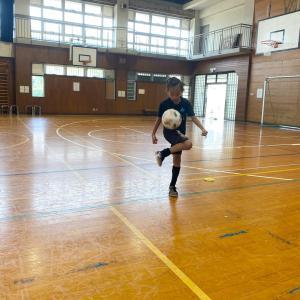 ◆えいとまんの自主練習&リフティング