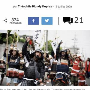 フランスの媒体とサイゾーウーマンに写真掲載していただきました