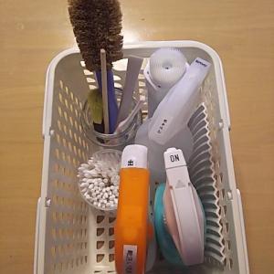 【整理】【収納】洗面所下の掃除用具の整理
