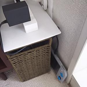 【収納】スイッチライトの充電器置き場とイオンのコンセント