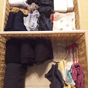 【収納】靴下、タイツの収納と毛玉取り
